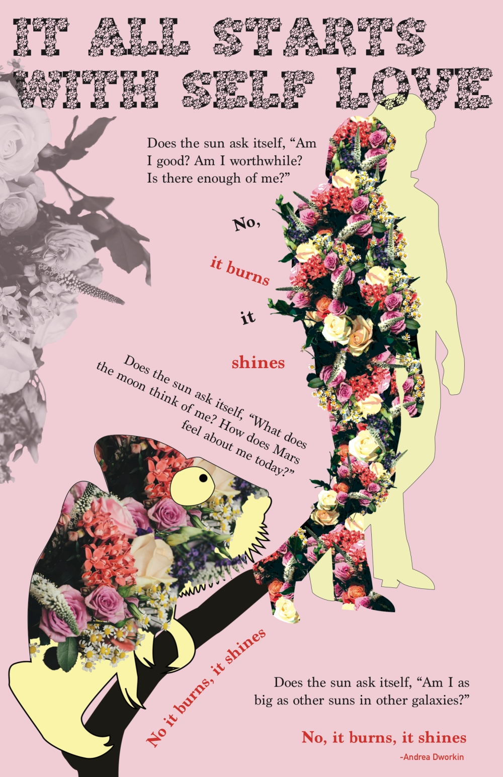 Self-love poster